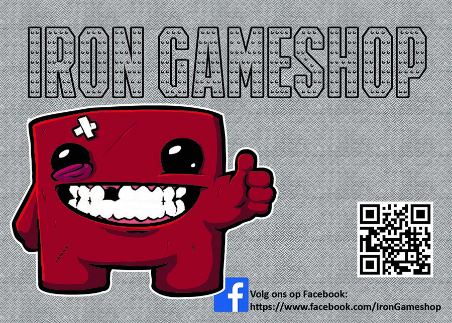 Iron Gameshop is ook bij Gaming Universe